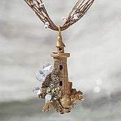 Свадебный салон handmade. Livemaster - original item Pendant lighthouse wedding colors. Handmade.