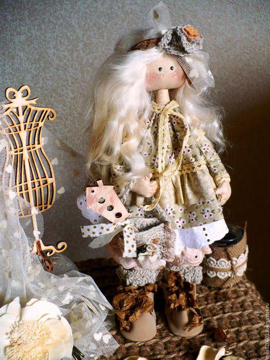 Коллекционные куклы ручной работы. Ярмарка Мастеров - ручная работа. Купить Фрося. Handmade. Бежевый, кукла ручной работы