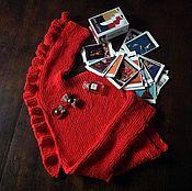 """Одежда ручной работы. Ярмарка Мастеров - ручная работа """"Arancia Siciliana"""" эксклюзивный джемпер ручной работы. Handmade."""