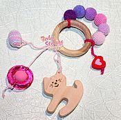 Куклы и игрушки ручной работы. Ярмарка Мастеров - ручная работа Грызунок с кошкой. Handmade.