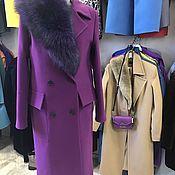 Одежда ручной работы. Ярмарка Мастеров - ручная работа Пальто зимнее lilac winter. Handmade.
