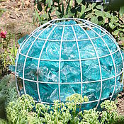Для дома и интерьера handmade. Livemaster - original item Ball-gabion for garden, ball of wire for decor. Handmade.