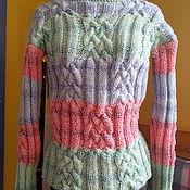 Одежда ручной работы. Ярмарка Мастеров - ручная работа Джемпер Мулине. Handmade.