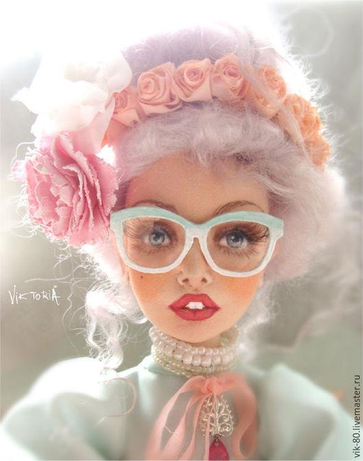 Коллекционные куклы ручной работы. Ярмарка Мастеров - ручная работа. Купить Оливия. Handmade. Текстильная кукла, авторская ручная работа