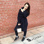 Одежда ручной работы. Ярмарка Мастеров - ручная работа Пальто из 100% шерсти высокого качества. Handmade.