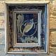 Вдохновением послужило творчество Уильяма Морриса,рисунок гобелена.