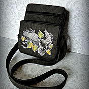 Сумки и аксессуары handmade. Livemaster - original item Bag Beck Autumn flight. Handmade.