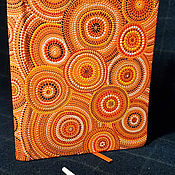 Ежедневники ручной работы. Ярмарка Мастеров - ручная работа Оранжевое настроение. Handmade.