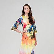 Эксклюзивное платье из шелка