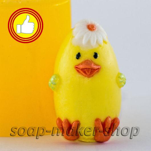 Материалы для косметики ручной работы. Ярмарка Мастеров - ручная работа. Купить Силиконовая форма для мыла «Цыпленок 3D». Handmade.