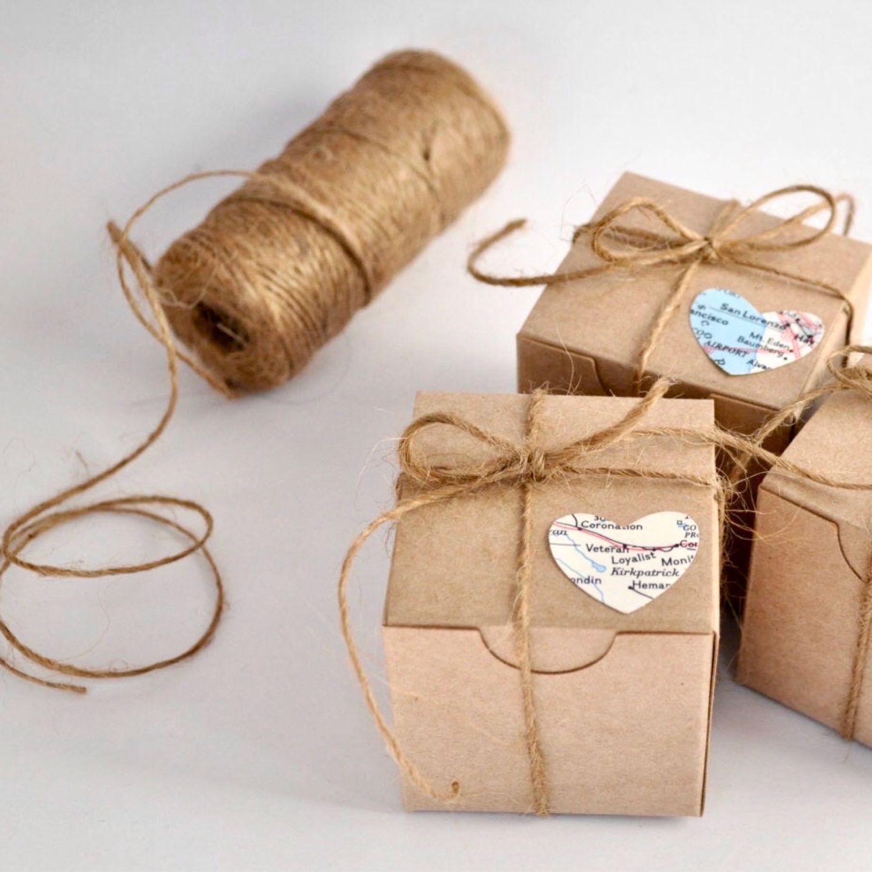 Джутовый шпагат (бечевка, верёвка) 10м для декора и упаковки (2 цвета), Шнуры, Нижний Новгород,  Фото №1