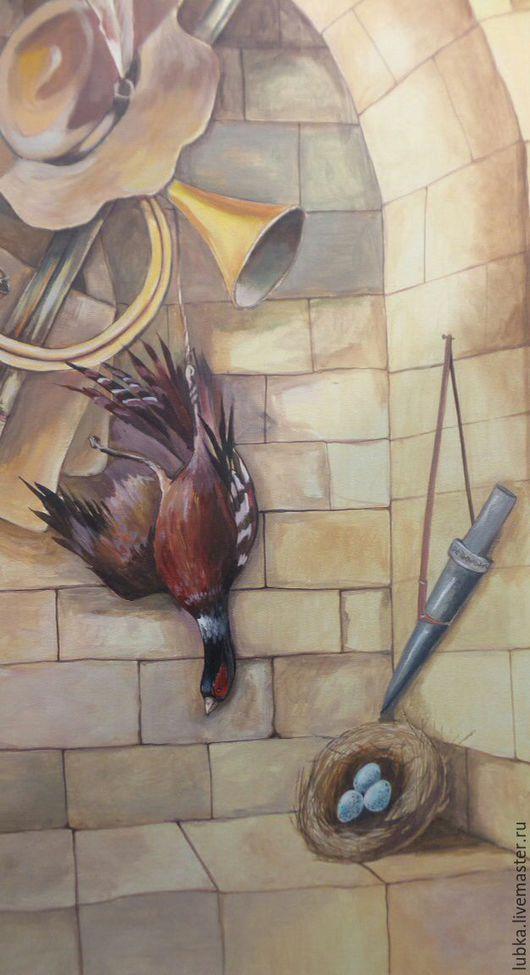 Декор поверхностей ручной работы. Ярмарка Мастеров - ручная работа. Купить Охотничий домик. Handmade. Комбинированный, декор кабинета