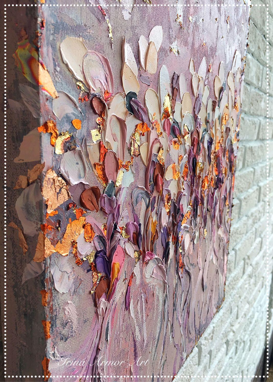 Абстракция ручной работы. Ярмарка Мастеров - ручная работа. Купить Настенный декор Tender 1. Handmade. Картина маслом