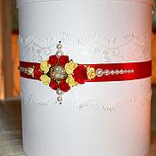 Свадебный салон ручной работы. Ярмарка Мастеров - ручная работа Свадебная казна ( арт. 0007). Handmade.