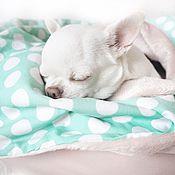Для домашних животных, ручной работы. Ярмарка Мастеров - ручная работа Зефирное одеяло. Handmade.