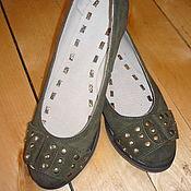Обувь ручной работы handmade. Livemaster - original item Ballet shoes made of genuine leather. Handmade.