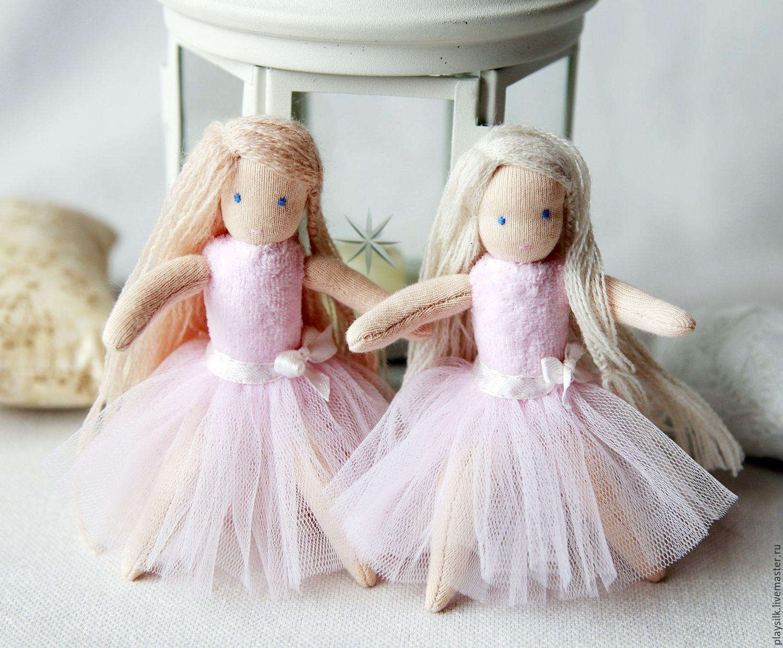 Вальдорфская кукла Балерина, Вальдорфские куклы и звери, Козьмодемьянск,  Фото №1