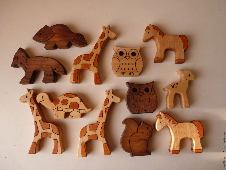 Забавные деревянные игрушки своими руками