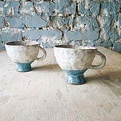 Посуда ручной работы. Ярмарка Мастеров - ручная работа Кружки двухцветные #3. Handmade.