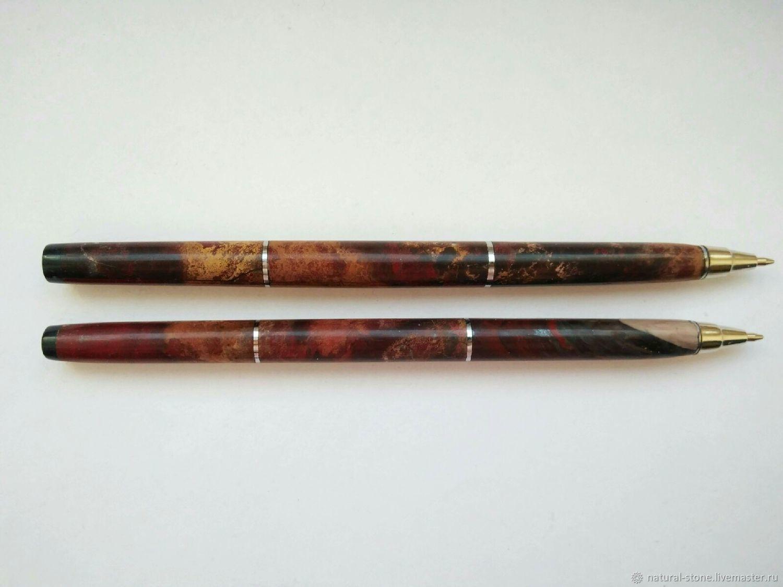 Сувенирная ручка из натурального камня