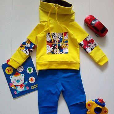 Товары для малышей ручной работы. Ярмарка Мастеров - ручная работа Трикотажный костюм Дисней. Handmade.