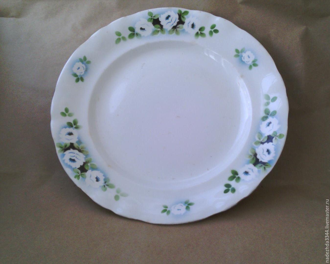 1930s. A great dish. konakovo, Vintage plates, Moscow,  Фото №1