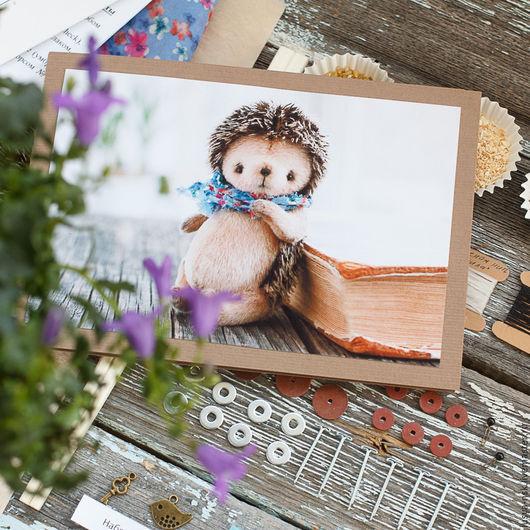 Куклы и игрушки ручной работы. Ярмарка Мастеров - ручная работа. Купить Набор для создания ежика тедди. Handmade. Набор для шитья