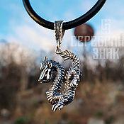 Pendants manualidades. Livemaster - hecho a mano Pendant Dragon Fire. Silver 925 art.1030301. Handmade.