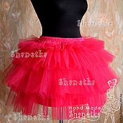 Одежда handmade. Livemaster - original item Skirt of tulle for adults Berry. Handmade.