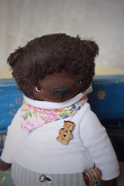 Мишки Тедди ручной работы. Ярмарка Мастеров - ручная работа. Купить Карамелькин. Handmade. Тедди, teddy, опилки древесные