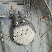 Brooches handmade. Livemaster - original item Brooch Totoro. Handmade.
