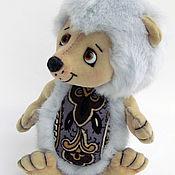 Куклы и игрушки ручной работы. Ярмарка Мастеров - ручная работа Ежик  тедди Мартин.(16 см). Handmade.