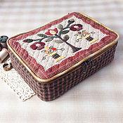 Для дома и интерьера ручной работы. Ярмарка Мастеров - ручная работа Шкатулка для рукоделия. Handmade.
