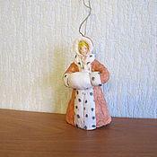 Подарки к праздникам ручной работы. Ярмарка Мастеров - ручная работа Герда. Ватные елочные игрушки. Handmade.