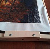 Материалы для творчества ручной работы. Ярмарка Мастеров - ручная работа Рамка для выкладки алмазной мозаики АР-700. Handmade.