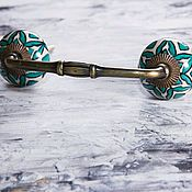 Для дома и интерьера ручной работы. Ярмарка Мастеров - ручная работа Мебельная ручка-скоба 2. Handmade.