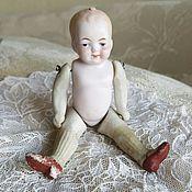 Винтажные куклы ручной работы. Ярмарка Мастеров - ручная работа Фарфоровая куколка. Handmade.
