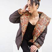 Одежда handmade. Livemaster - original item Demi-season short jacket