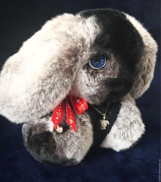 Куклы и игрушки ручной работы. Ярмарка Мастеров - ручная работа. Купить Зайка игрушка из натурального меха. Handmade. Натуральный мех