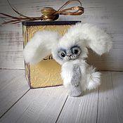 Куклы и игрушки ручной работы. Ярмарка Мастеров - ручная работа зайка тедди Пуф. Handmade.