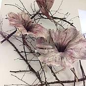 Цветы и флористика ручной работы. Ярмарка Мастеров - ручная работа Цветы из бумаги. Handmade.