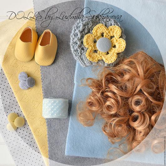 Куклы и игрушки ручной работы. Ярмарка Мастеров - ручная работа. Купить Набор для самостоятельного пошива куколки 92. Handmade. Голубой