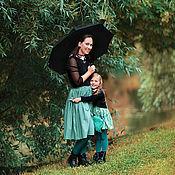 Одежда ручной работы. Ярмарка Мастеров - ручная работа Юбки для мамы и дочки (Family look). Handmade.