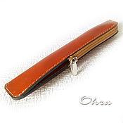 Сумки и аксессуары handmade. Livemaster - original item Case handle leather. Handmade.