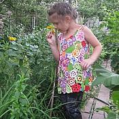 Работы для детей, ручной работы. Ярмарка Мастеров - ручная работа Платье для Дианы.. Handmade.