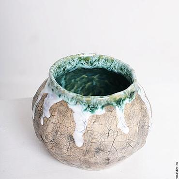 Посуда ручной работы. Ярмарка Мастеров - ручная работа Керамический стакан / Керамическая сахарница. Handmade.