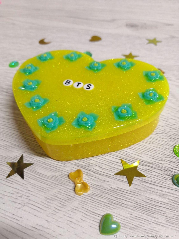 Box Yellow Glitter Box BTS, Box, Tyumen,  Фото №1