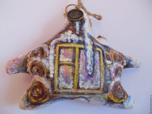 Ароматизированные куклы ручной работы. Ярмарка Мастеров - ручная работа. Купить ретро игрушка Новогодний домик № 2. Handmade.