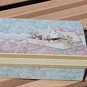 Подарки к праздникам ручной работы. Ярмарка Мастеров - ручная работа Коробочка Мамины сокровища. Handmade.