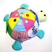 Куклы и игрушки ручной работы. Ярмарка Мастеров - ручная работа Развивающая игрушка Черепашка Кармашка. Handmade.